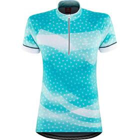 Löffler Prisma Naiset Pyöräilypaita lyhythihainen , sininen